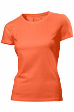 XXL WOMENS GIRLS HANES SHORT SLEEVE COTTON T SHIRT CREW NECK BNWOT