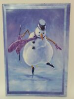 2 Pack of 12 American Greetings Cards & Envelopes (24 total) Holiday Snowman New