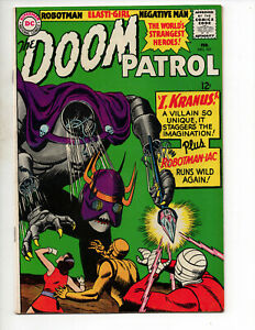The Doom Patrol #101 (1966 DC Comics) - Beast Boy/Challengers App.