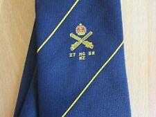 27 mg BN NZ MACHINE GUN BATTAGLIONE Nuova Zelanda Cravatta Militare da Eskay