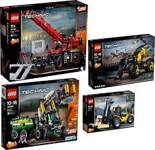 LEGO Technic 42082 42081 42080 42079 Kranwagen Volvo Konzept-Radlader N8/18