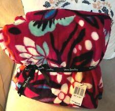New Vera Bradley Fleece Throw Blanket