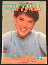 1987 Singapore Radio & TV Times Magazine Molly Ringwald Madonna Pepsi & Shirley