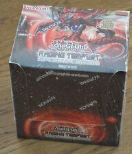 yu-gi-oh! RAGING Tempest Edición Especial Pantalla Alemán 10 packs