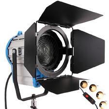 FS2000 2000W Fresnel tungstène projecteur éclairage Studio vidéo ampoule variate