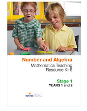 Number and Algebra – Stage 1: Maths Teaching Resource K–6