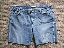 Mens Riders Denim Shorts Blue size L