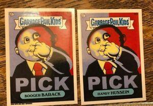 Garbage Pail Kids Booger Barack 96a Handy Hussein 96aTopps. 2013