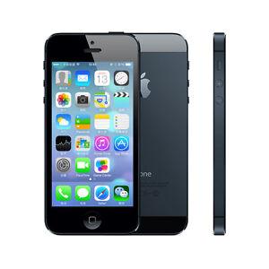 "Original Unlocked Apple iPhone 5 5G - iOS 64GB 4G Smartphone 4.0"" White/Black"
