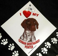 German Shorthaired Pointer Auto Decal