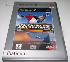 Tony Hawk's Pro Skater 3 PS2 (Platinum) PAL *Complete*