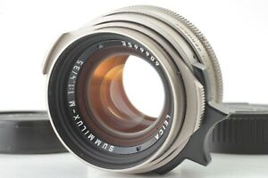 NEAR MINT Leica 35mm F/1.4 Summilux-M Titan Titanium Front cap From Japan #OS113