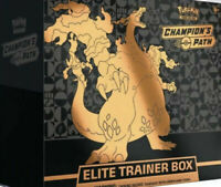 Pokemon TCG Champion's Path Elite Trainer Box Sealed 10 Booster Packs In Stock