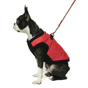 Gooby Small Breed Dog Quilted Vest Jacket Coat  XS S M L XL