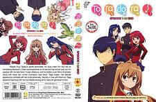 DVD Anime TORADORA Episode 1 - 25 End + 2 OVA  English Dub To Ra Do Ra Free Ship