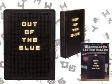 Lightbox Letterboard Beleuchtet 942601 Leuchtschild Lichtbox Buchstabentafel
