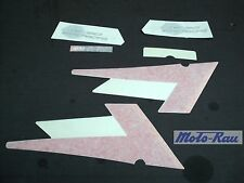 Aprilia SR 50 LC / SR 50 Di Tech Heckaufklebersatz Sticker grau nicht komplett