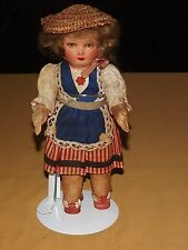 "VINTAGE TOY 12"" HIGH 1950S FRENCH  DOLL"