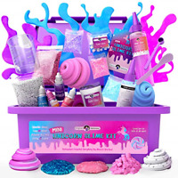 Original Stationery Mini Unicorn Slime Kit for Girls - Kids Can Make Unicorn