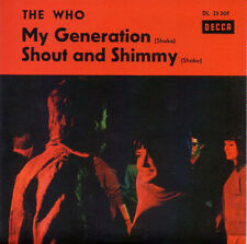 ★☆★ CD Single The WHO My generation - Shout and Shimmy 2-track CARD SLEEVE ★☆★