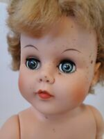 ~* VINTAGE 1960'S ALLIED EASTERN COMPANY 18'' DOLL ~*