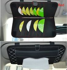 Black Vehicle Car Sunshade Visor Cd Dvd Disc Storage Pouch Bag Holder