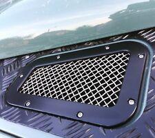 Land Rover Defender ventilación superior ala (par) De Acero Inoxidable