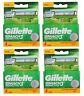 16 Gillette Mach3 Sensitive Rasierklingen 4x 4er OVP Gillete Gilette Gilete