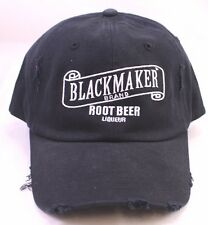 BLACKMAKER ROOT BEER Liqueur Baseball Hat Cap New Made to look used