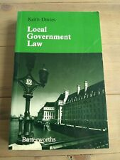 Local Government Law, Keith Davies