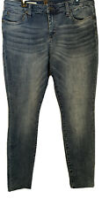 Kut from the Kloth Size 14 Carlo Ankle Skinny Raw Hem Jeans