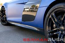 German Rush V10 Style Carbon Fiber Side Skirts Audi R8 2007 - 2014