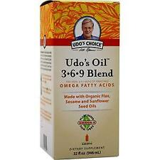 Flora Udo's Oil 3-6-9 Blend Liquid  32 fl.oz