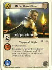 A Game of Thrones LCG - 1x Ser Boros Blount  #059 - The Kingsguard