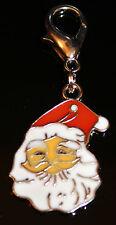 Padre Navidad Cara Clip En Bolsa De Encanto