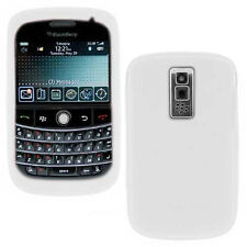 OEM NEW White Rubber Sleeve Silicon Skin Case Cover Blackberry BOLD 9000 GENUINE