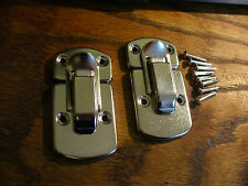 TKL Case Latch set for vintage archtop + Solid-body cases luthier repair project
