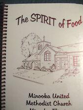 NEW Minooka United Methodist Church Cookbook Minooka, Illinois