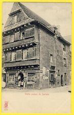cpa Bretagne Edition KUNZLI Frères, PARIS Vieille Maison de CARHAIX (Finistère)
