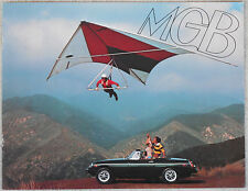 MG MGB 1976 USA Canada brochure 8 page