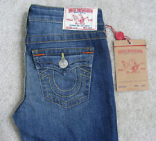 NWT TRUE RELIGION Girls Julie Skinny Straight Jeans Size 10 Warm Afternoons Wash