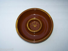 Williams of Sonoma Portugal Red Clay Pottery Chip/Dip Candle/Potpourri Bowl NEW