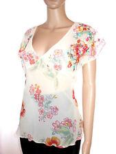 H&M Blouse Plus Size Floral Tops & Shirts for Women
