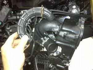 "1.5"" Radiator Air Box Mod Velocity Stack Honda Grom MSX125 All Years 13-20"