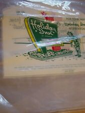 Vintage Holiday Inn Shower Cap Plastic Bag Lot Innkeeper Hotel Motel Advertising