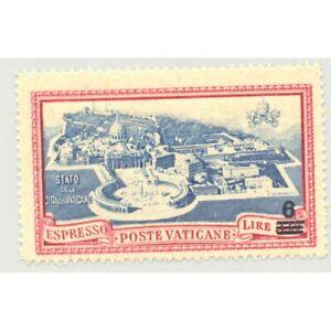 VATICAN EXPRESS 6 LIRE 1946 Yvert 7 NEUF