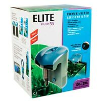 Power Filter Elite Hush 55 For Aquariums 35 to 55 Gls ( 130 to 210L )