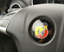 1x Fiat Abarth Lenkrad Emblem logo 56mm Aufkleber punto evo 500 595 695 1,4