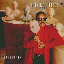 "STEVIE WONDER "" CHARACTERS "" LP NUOVO COP. APRIBILE (BUSTA CON TESTI)"