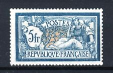 "FRANCE STAMP TIMBRE YVERT N° 123 "" MERSON 5F BLEU ET CHAMOIS "" NEUF xx TTB  T050"